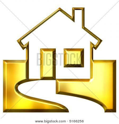 3D Golden Real Estate