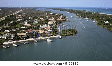 Florida Coast Flyover