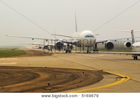 Planes In Line