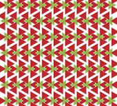 background or texture red and green triangles poster