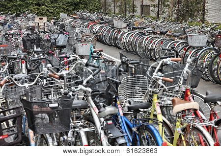 Japan Bicycle Parking