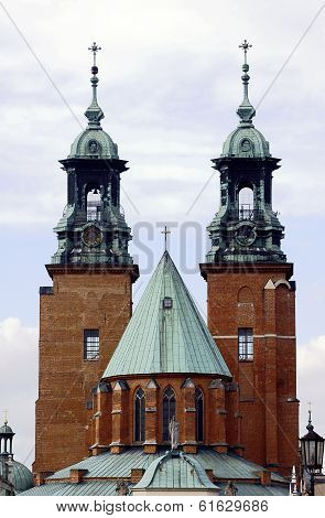 The towers of the Basilica Archdiocese