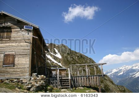 Old House In Mountains