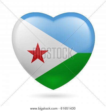 Heart icon of Djibouti