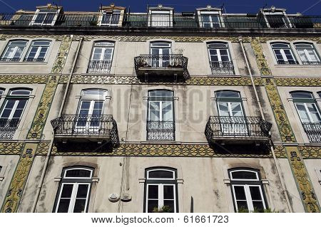 Old Building, Lisbon, Portugal