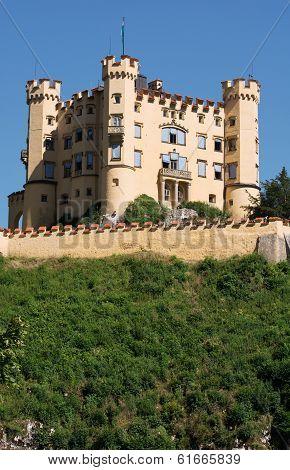 Castle Hohenschwangau In Bavaria, Germany