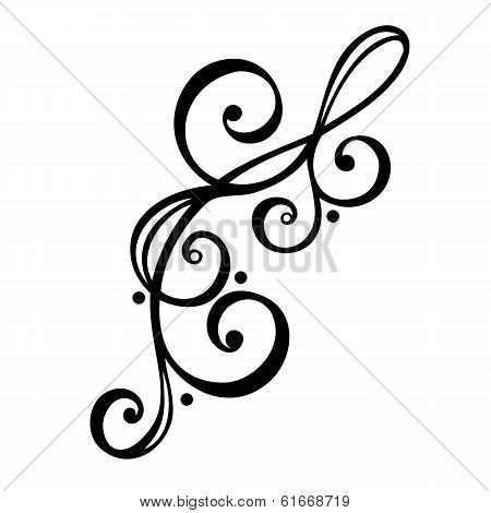Vector Deco Abstract Ornate Elements. Design elements poster