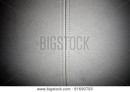 grey leather background