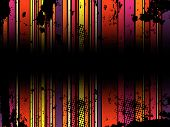 Abstract Grunge Stripe Background in several colors. Vector Image. poster