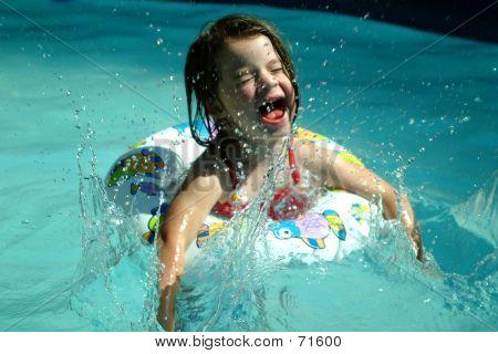 Children- Splashing Girl