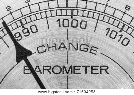 Change in the weather barometer macro detail.