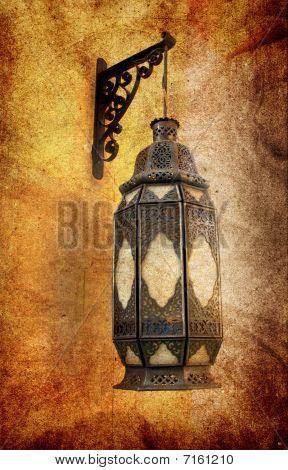 Grungy Lamp