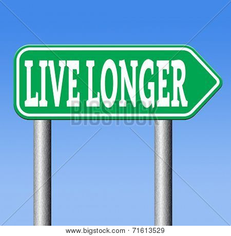ive a long healthy life. Living longer by a stressfree relaxed lifestyle and good food