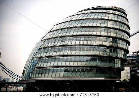 City Hall, the headquarters of the Greater London Authority