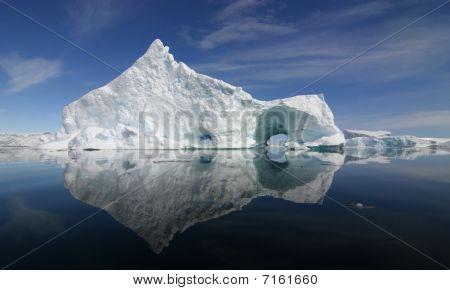 Eisberg Reflexion