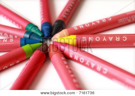 Colour Crayons