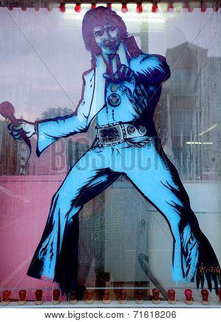 Elvis Street art Montreal