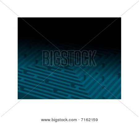 Gran laberinto azul / laberinto
