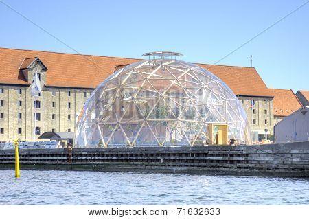 Denmark. Copenhagen. Vision Dome