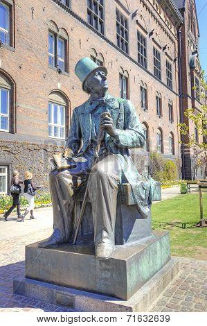 Denmark. Copenhagen. Hans Christian Andersen
