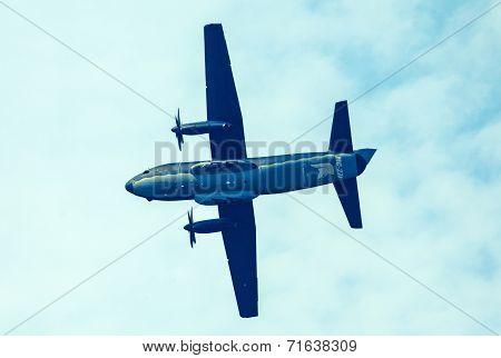 Airplane C-27 Spartan At Airshow