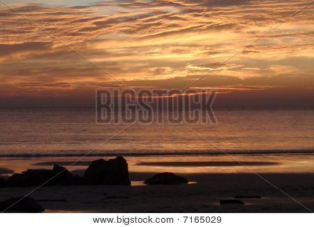Burma Sonnenuntergang
