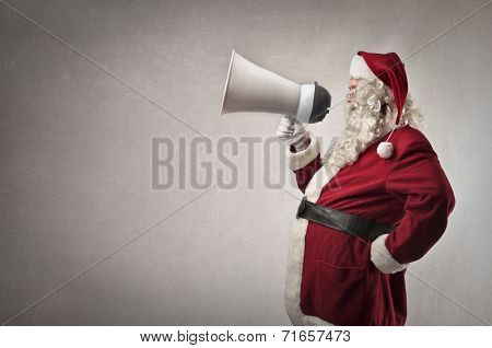 Santa Claus has got a message