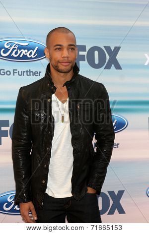 LOS ANGELES - SEP 8:  Kendrick Sampson at the 2014 FOX Fall Eco-Casino at The Bungalow on September 8, 2014 in Santa Monica, CA