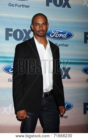 LOS ANGELES - SEP 8:  Damon Wayans Jr at the 2014 FOX Fall Eco-Casino at The Bungalow on September 8, 2014 in Santa Monica, CA