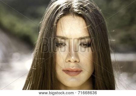 Brown Eye Girl