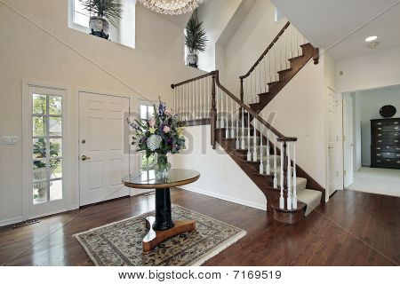 Foyer With Bedroom View