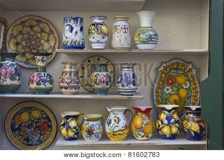 Amalfi hand painted ceramics
