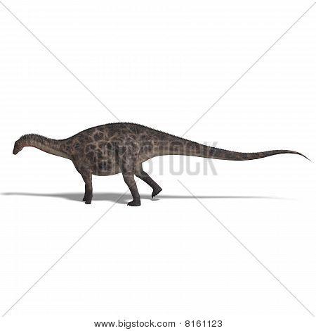 Dinosaur Dicraeosaurus