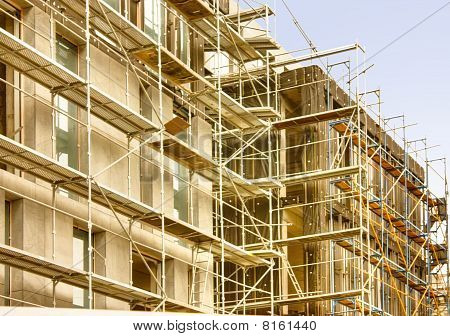 Construction Of Modern Buildings