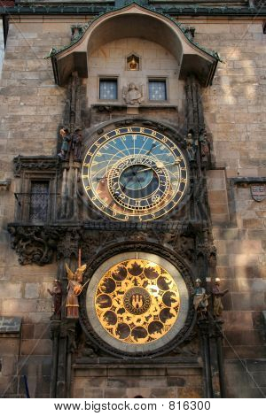 Prague Astronomical Clock 1