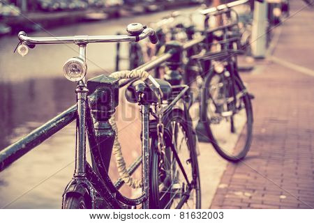 Secured Old Bike