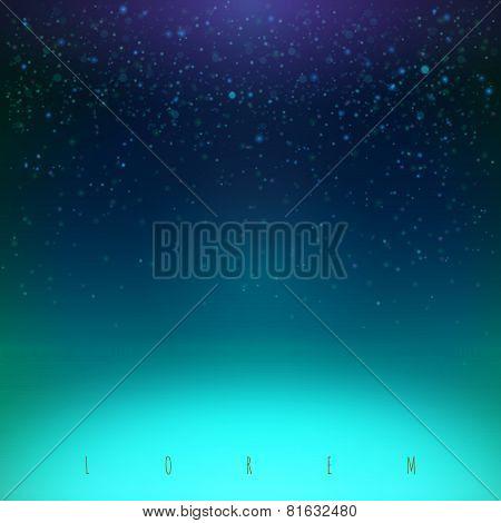 Blue Night Sky Illustration
