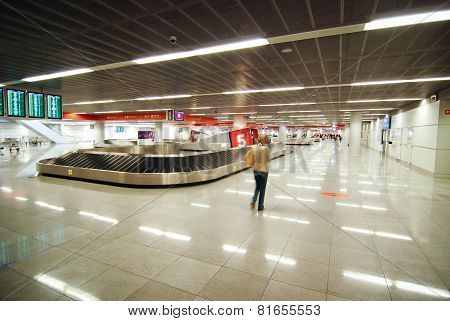 Chopin Airport In Warsaw