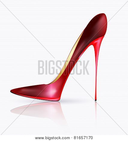 Big Red Shoe