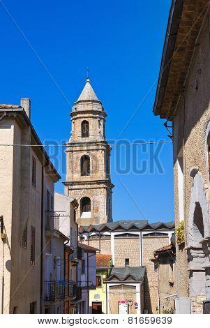 Alleyway. Satriano di Lucania. Italy.