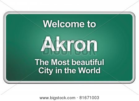 Welcome To Akron