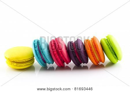Macaron Isolated On White Background