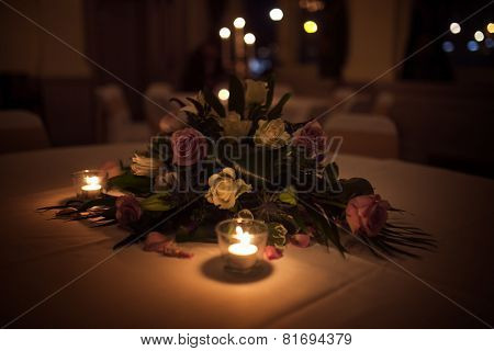 Wedding table top