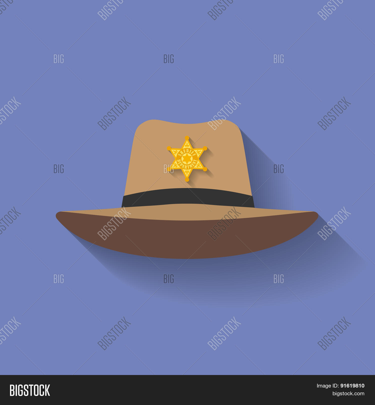 801acedfb98 Icon of Sheriff hat