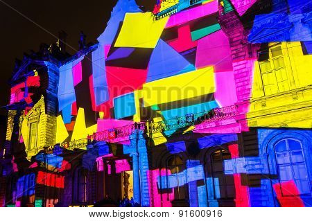 Festival Of Lights In Lyon