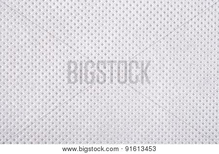 White Nonwoven Fabric Texture