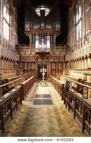 College Chapel in Cambridge University