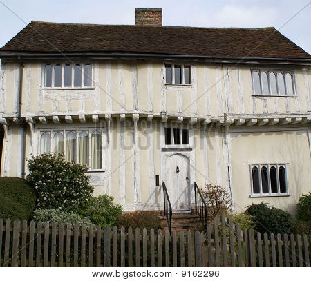 Timber-framed house in Lavenham