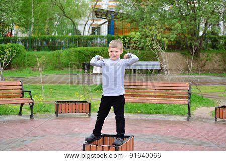 Naughty Boy On Walk In The Summer