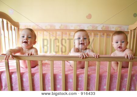 Triplet Baby Girls